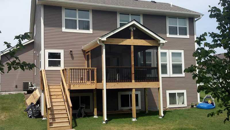 Porch Installation