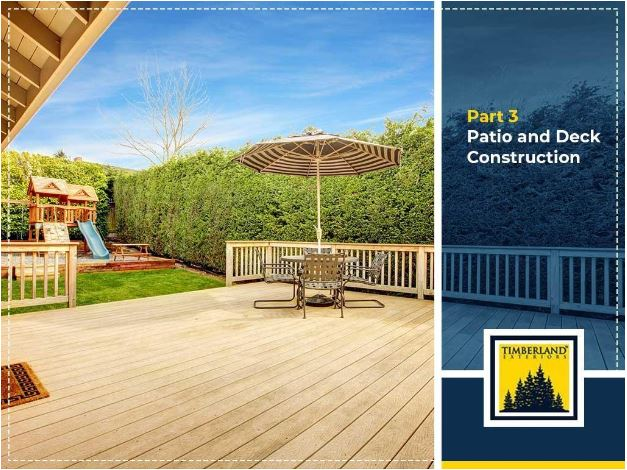 Premier Exterior Remodeling Projects For Every Home – Part 3 – Patio And Deck Construction